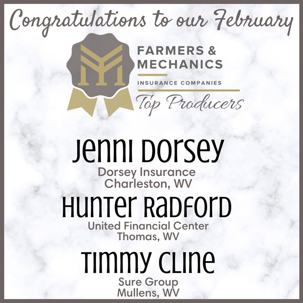 Top Producers February 2021