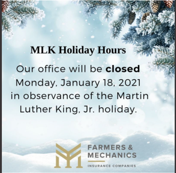 Martin Luther King Jr. Day 2021